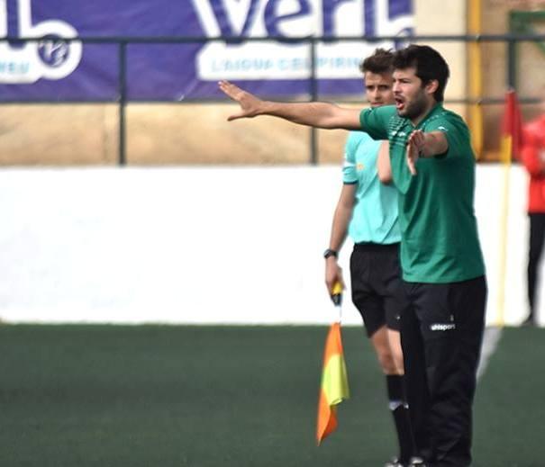 El nou entrenador, en la seva etapa al Sant Andreu