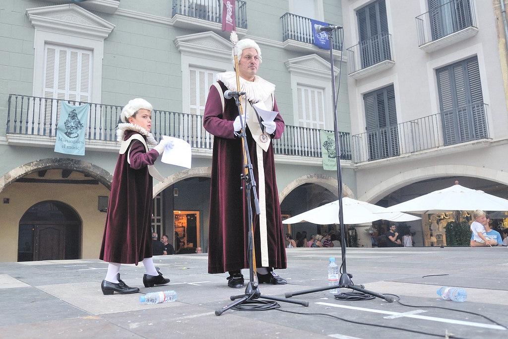 L'Oriol, amb el seu fill, el Saleret Octavi (Foto: ACAN)