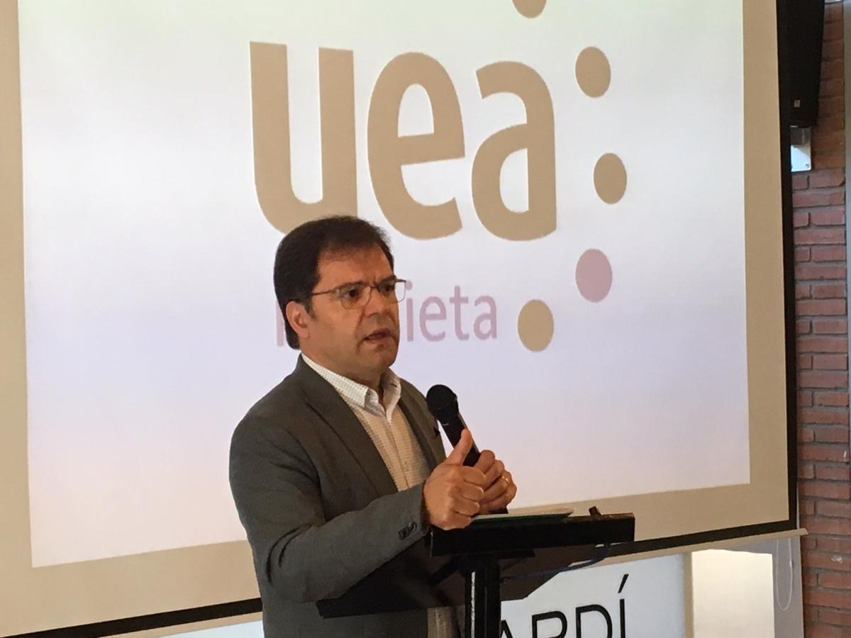 Blai Paco, president de la UEA