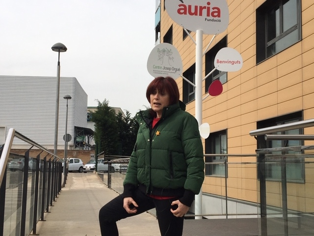 Marta Mateu, directora de la Fundació Privada Àuria