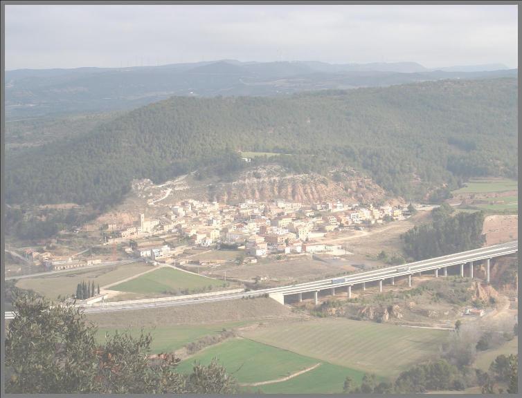 Imatge general del municipi de Jorba
