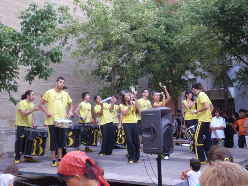 El grup barceloní Batek, primer premi en la categoria de Percussió de carrer