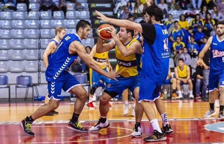Una imatge del partit contra el Sant Adrià FOTO: Basquetcatala.com