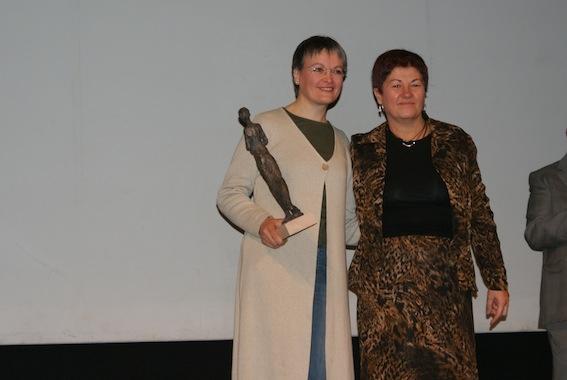 Assumpta Saumell, guanyadora del Premi de Rapsòdia