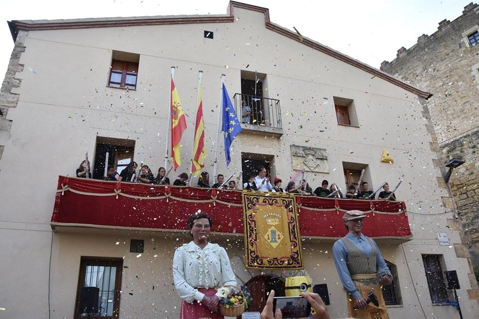 La festa gegantera, un dels ingredients bàsics de la Festa Major torredana