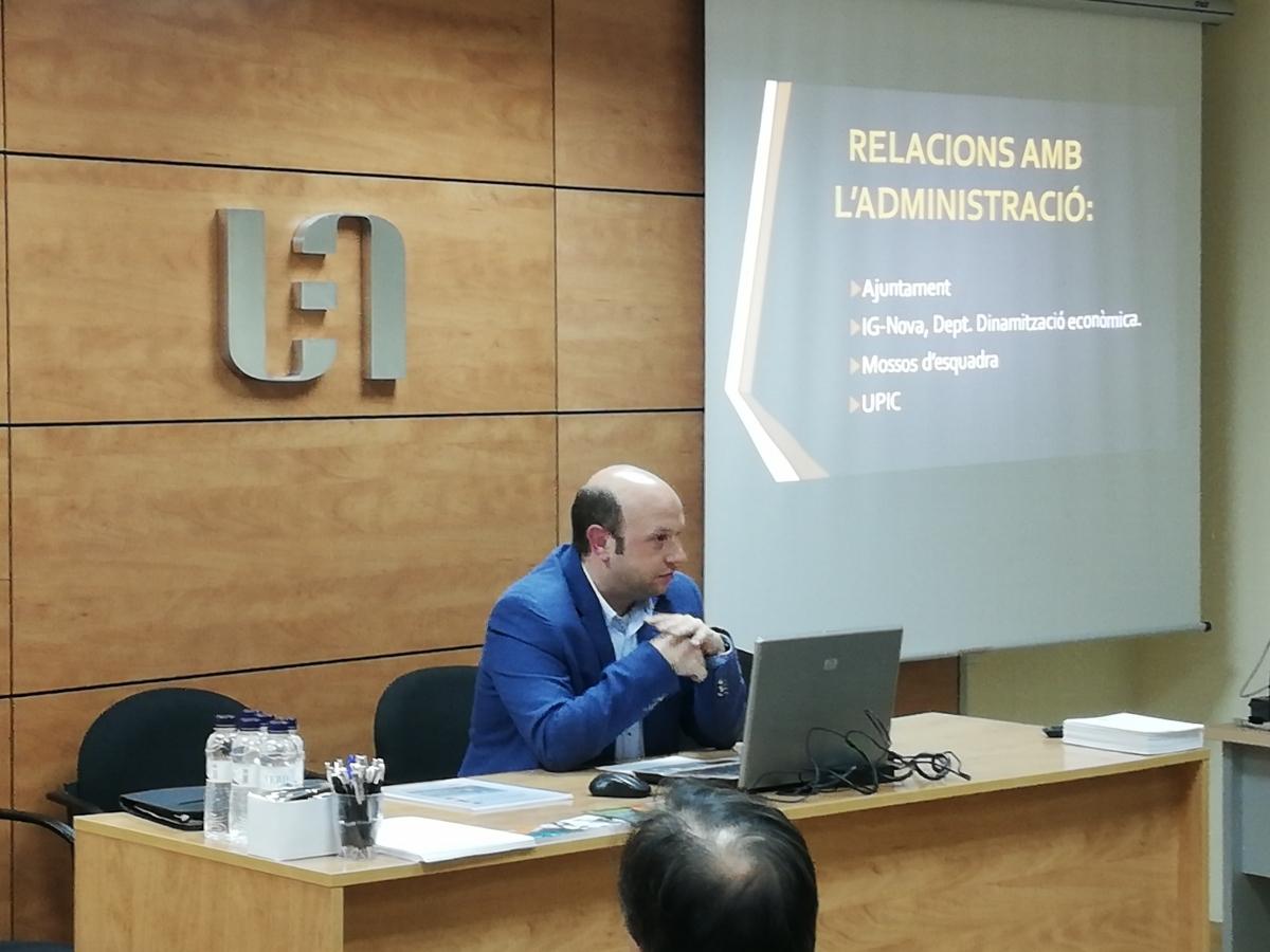 Joan Mateu, a la UEA