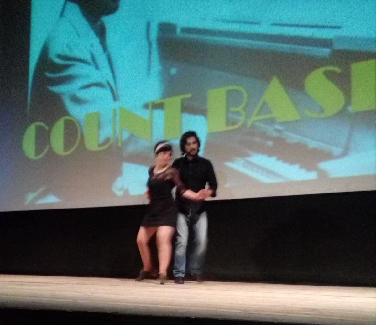 Fuster i Toro, en la seva dansa davant el públic