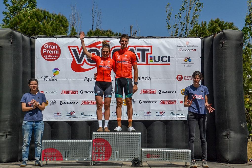 el txec Jiri Novak i la catalana Clàudia Galícia, guanyadors de la primera etapa