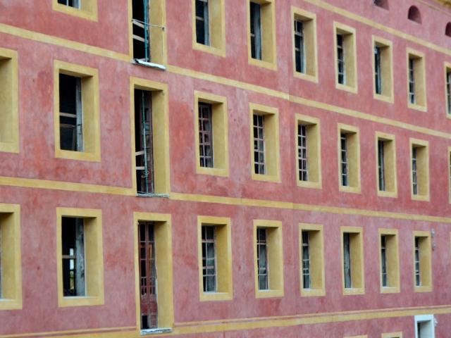 Imatge de la façana restaurada