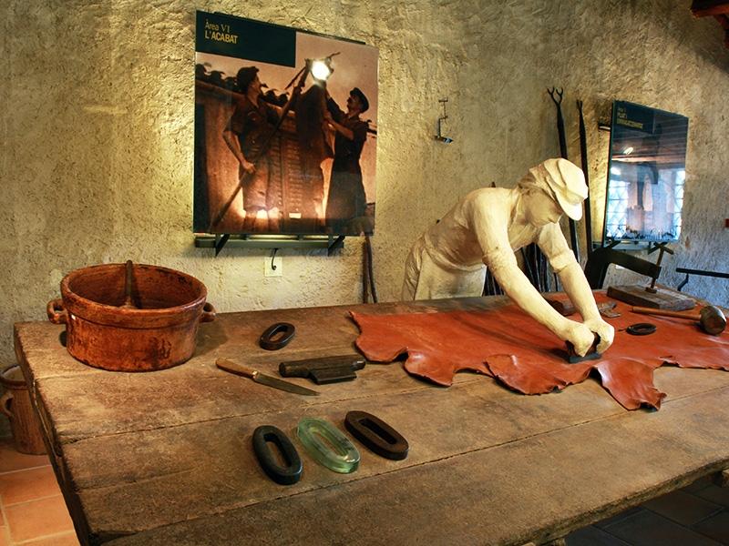 Una de les exposicions de Cal Granotes