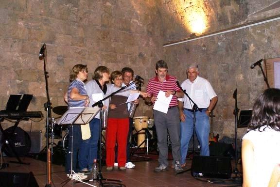 Participants del Concurs de Sonadors d'Ampolla d'anís