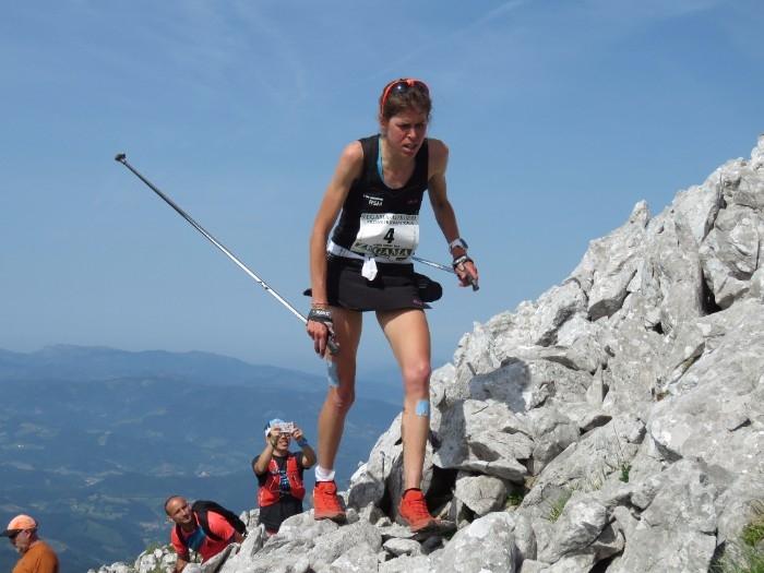 Orgué, en el Kilòmetre Vertical de Zegama del passat maig, on va guanyar FOTO: Monrasin