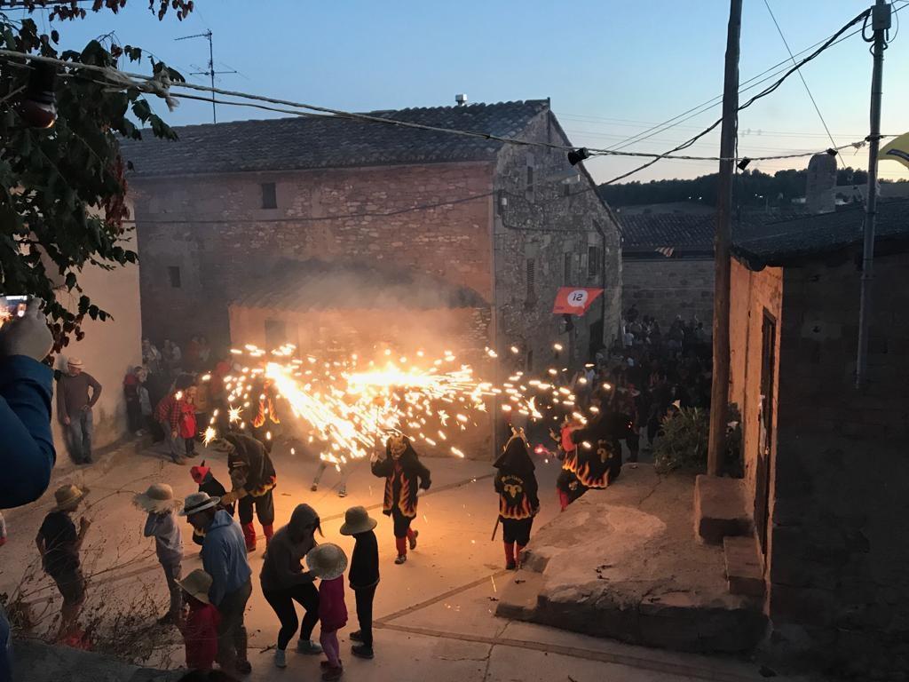 Les activitats de foc de l'any passat, un dels hams de les festes