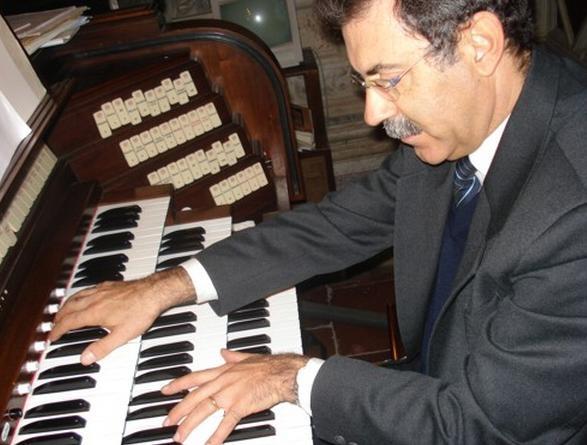 L'organista Joan Paradell