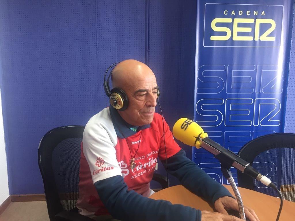 Serra, en el seu pas pels estudis de la SER