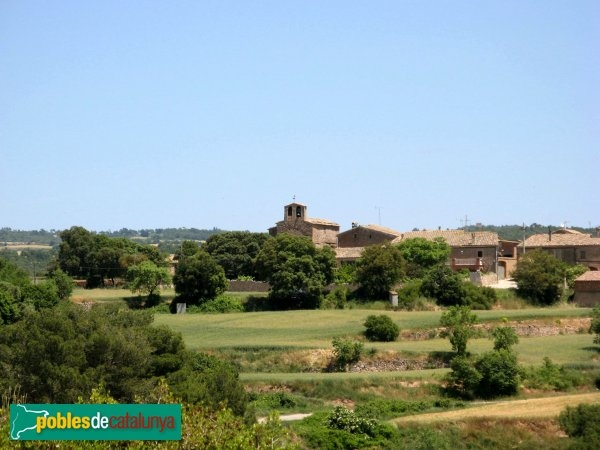 El nucli de Sant Pere del Vim - foto: PdC