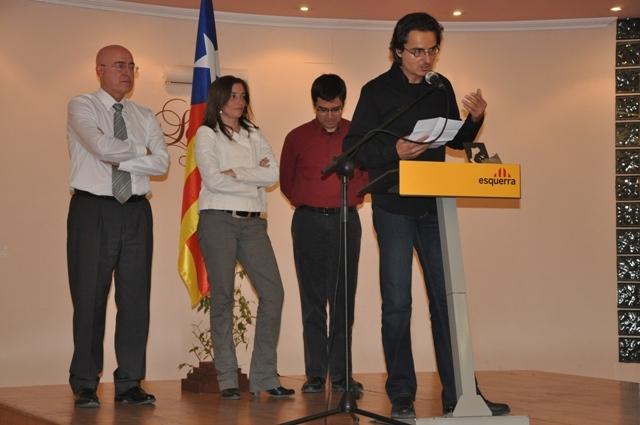 Bernat Dámaso, després de recollir el premi per Cal Macarró