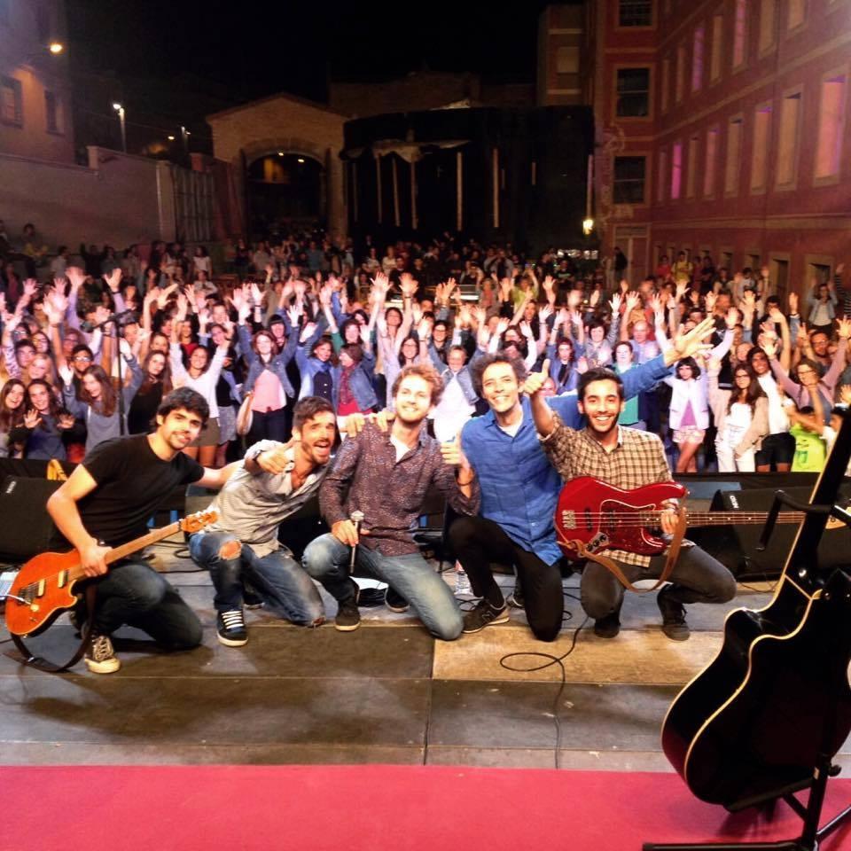Fotografia final del concert d'Enric Verdaguer.