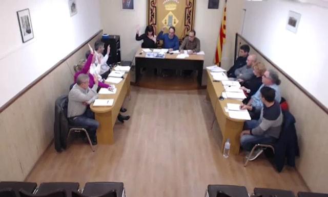 La sessió plenària en la que es van aprovar els pressupostos torredans