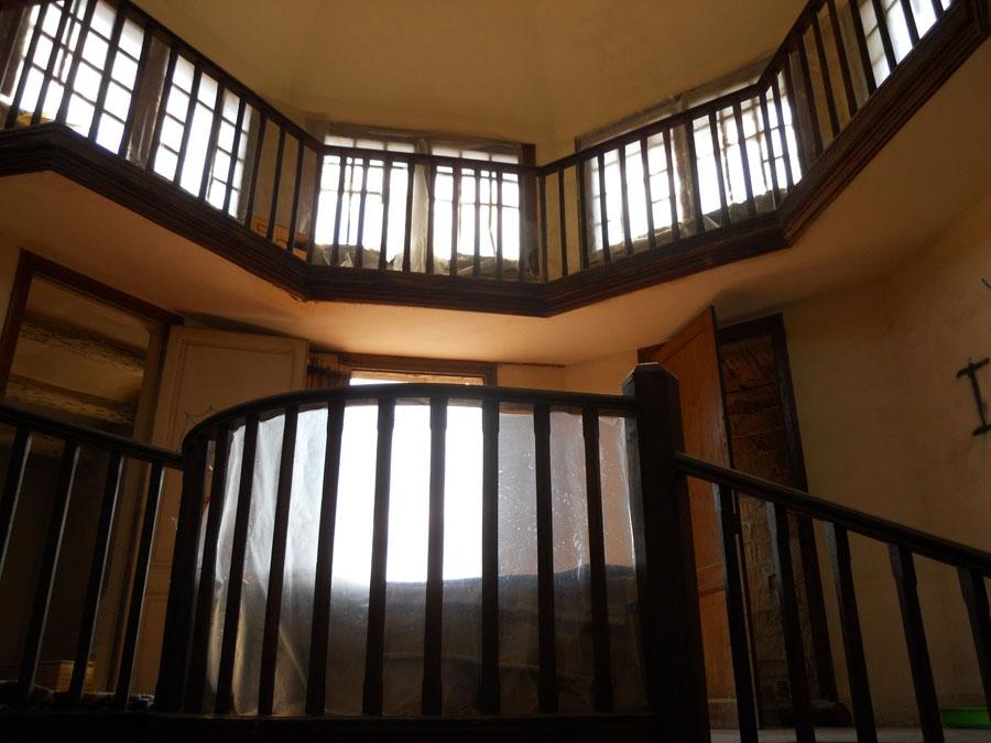 Interior de la torre de Cal Badia