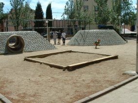 Plaça Pompeu Fabra, o plaça de les Tortugues