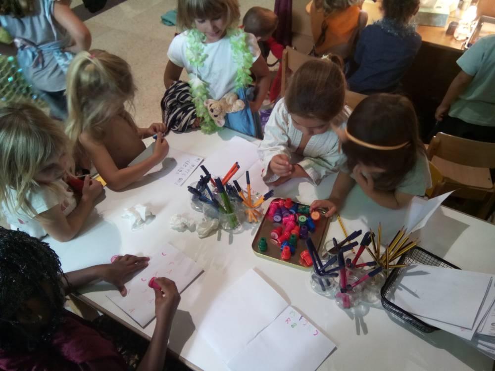 Una de les activitats de l'escola igualadina FOTO: Escoles Ateneu