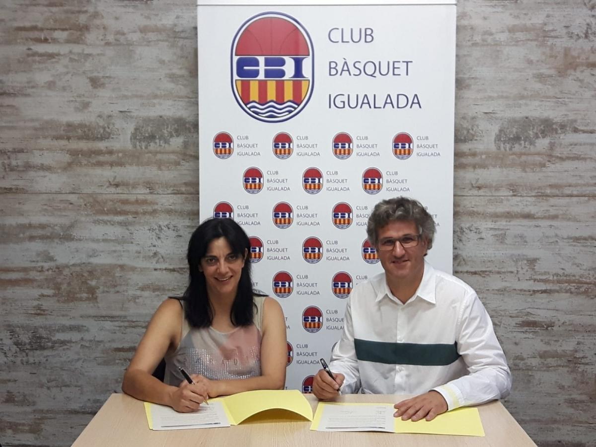 Marta Canet i Jordi Balsells, president del CBI