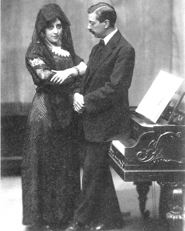 Enric Granados i Clotilde Godó