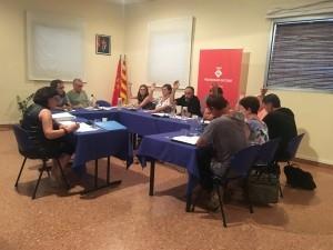 La sessió plenària de la setmana passada, a Calaf