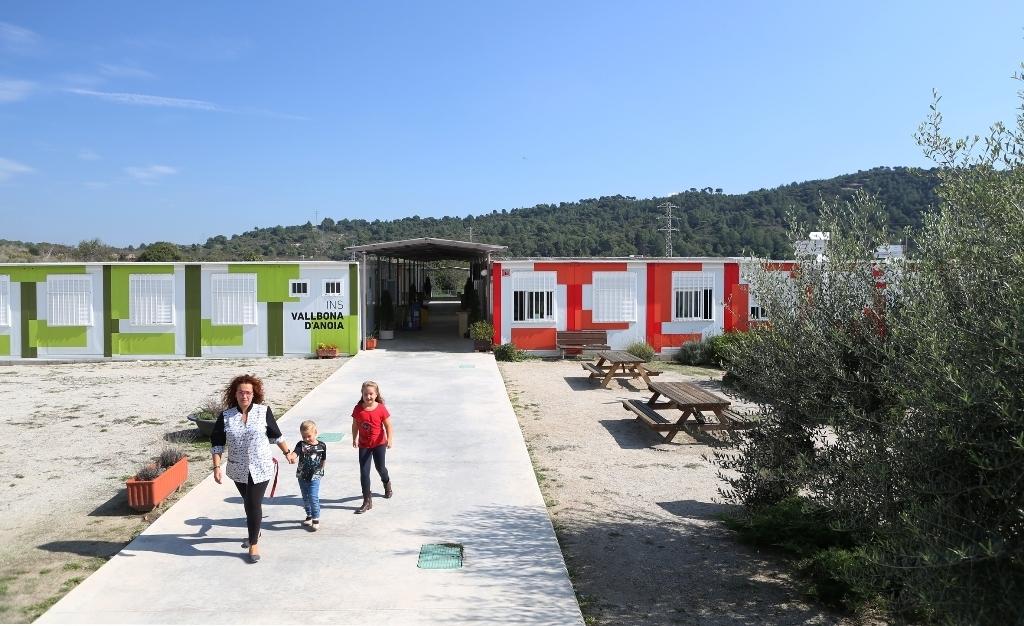 El SES Vallbona, el centre de secundària referent a la Pobla