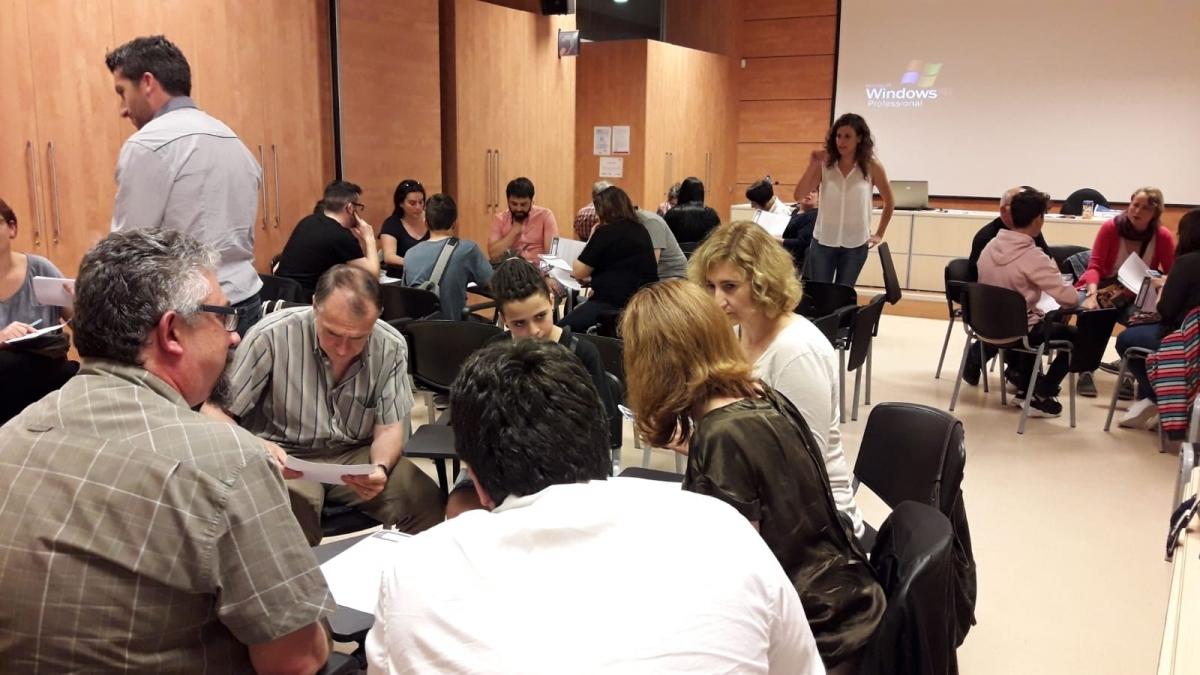 La reunió de pressupostos participatius feta al CTC