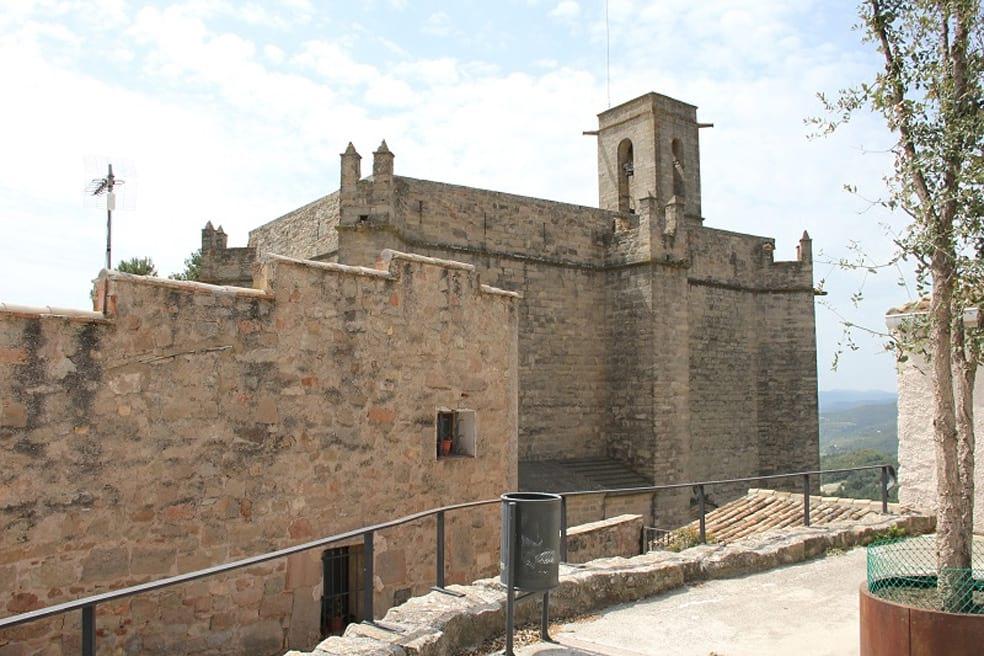 La rectoria, un dels elements llistats a preservar