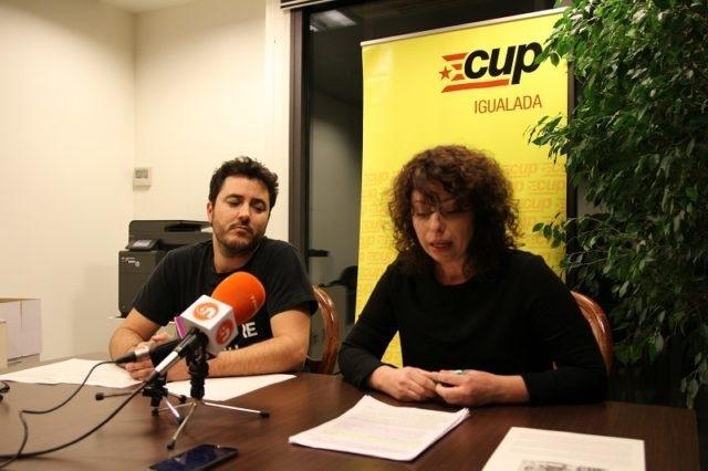 Albert Mateu i Eva Pedraza, els representants cupaires a l'Ajuntament