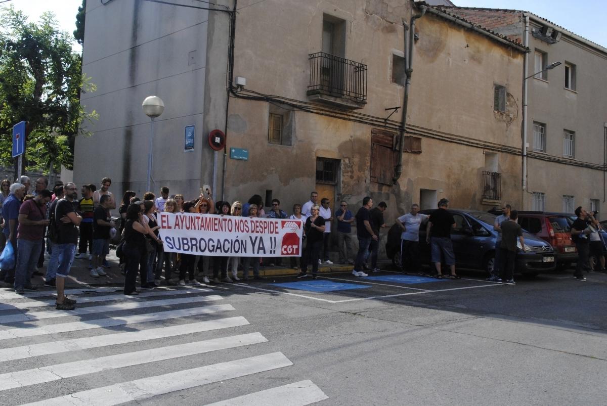 La manifestació del dia 9 porta cua