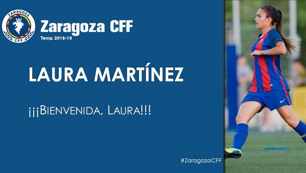 Els aragonesos han donat la benvinguda a les xarxes a Martínez