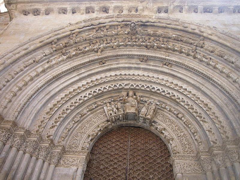 Portalada de Santa Maria d'Agramunt