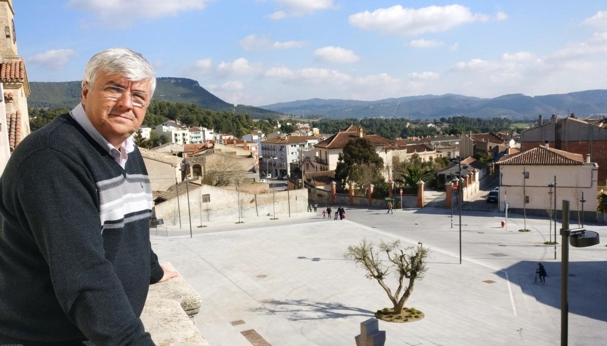 El batlle i candidat del PSC, Francisco Guisado