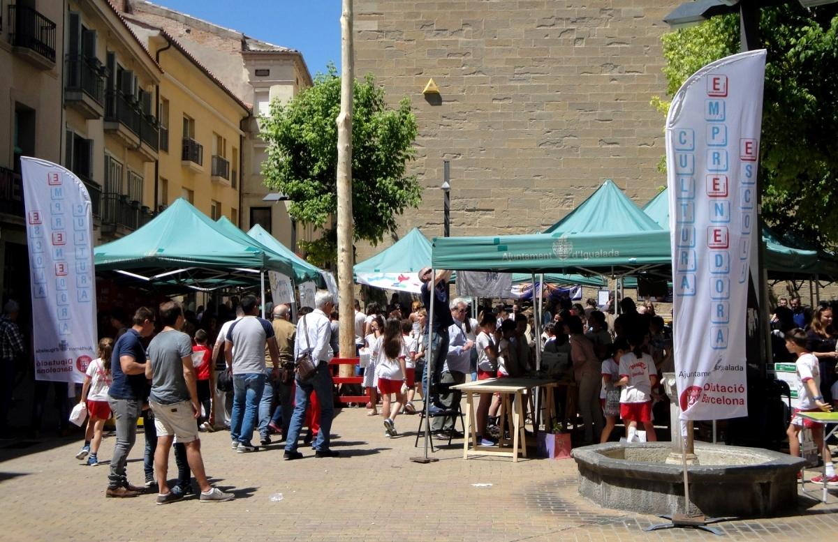 El mercat de l'any passat, a la Plaça Pius XII