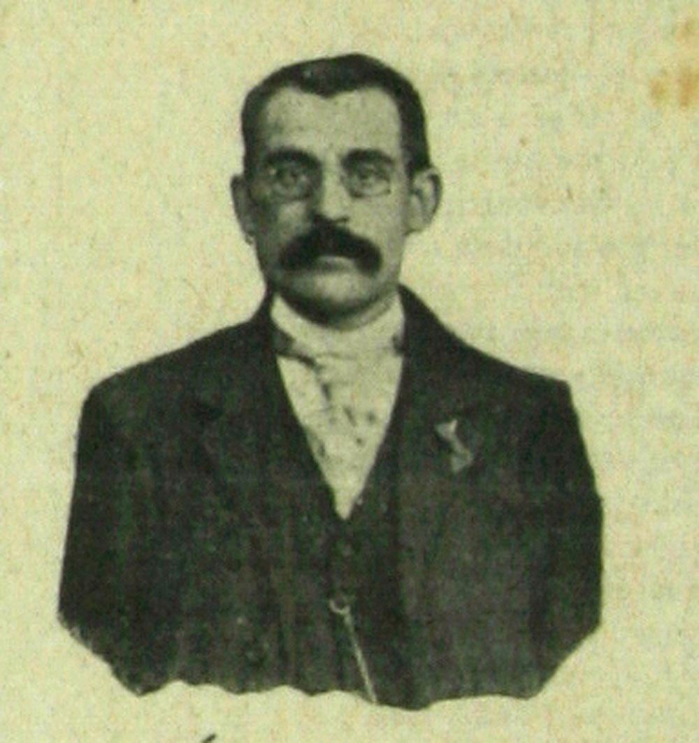 Lluís Marsans, en solitari. Extret de la revista La Tralla, número 30.