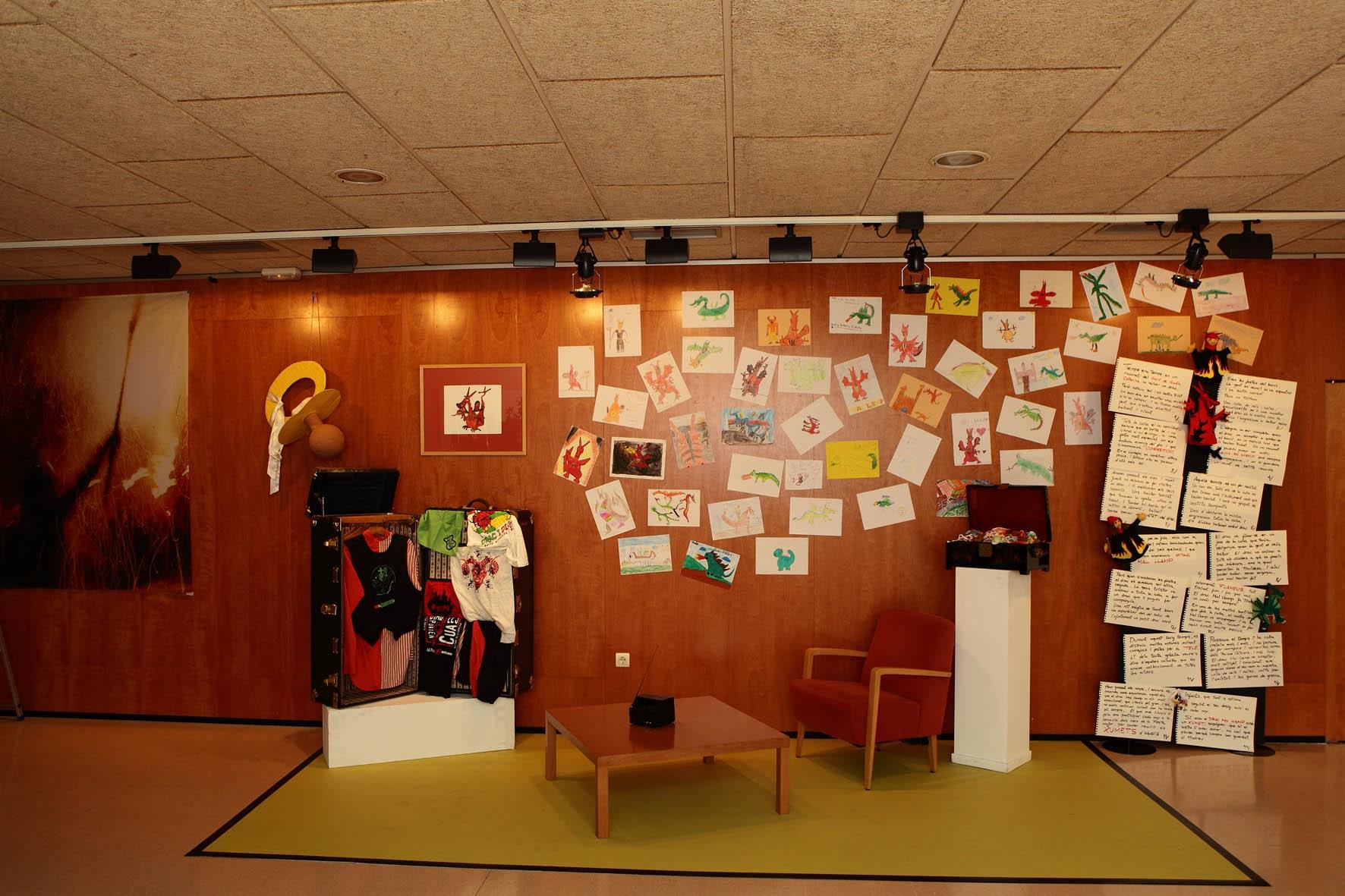 Imatge de l'exposició. A la Biblioteca Central fins el 10 de juliol