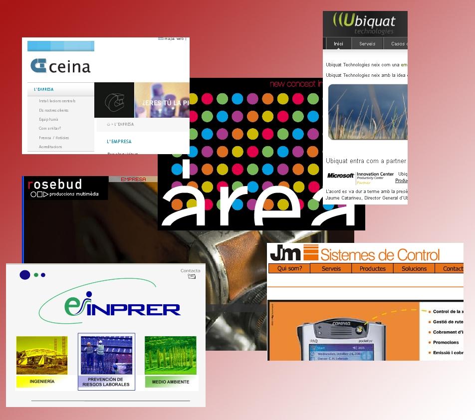 Algunes de les empreses allotjades a IG-Nova