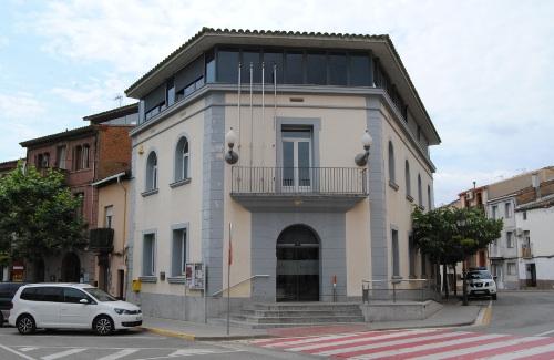 Imatge d'arxiu de l'edifici de l'Ajuntament de Masquefa.