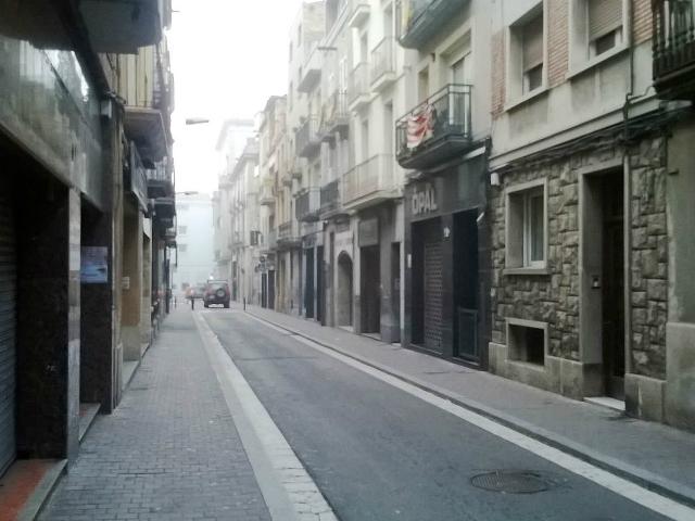 El carrer Òdena, una de les propostes de vianalització