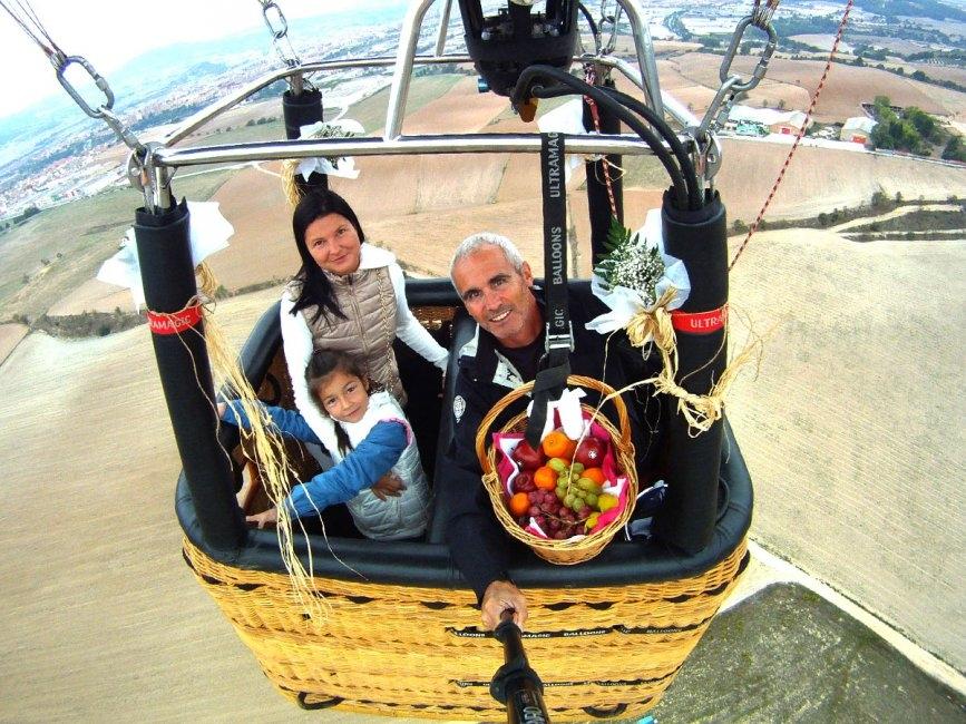 Els vols en globus, producte estrella FOTO: Kon-Tiki