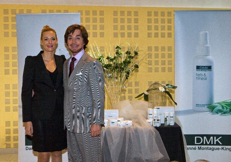 Sílvia Giralt i el Dr. Danné Montague-King, fundador de DMK