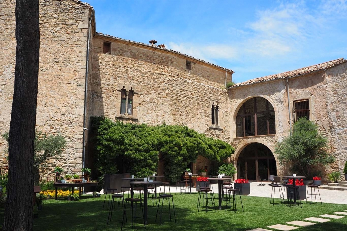 L'exterior del castell tousenc