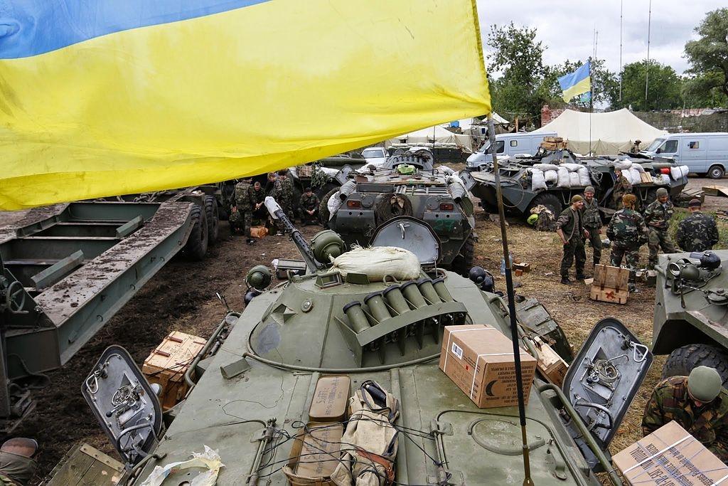 Inici de la guerra a Donbass Foto: Katehon