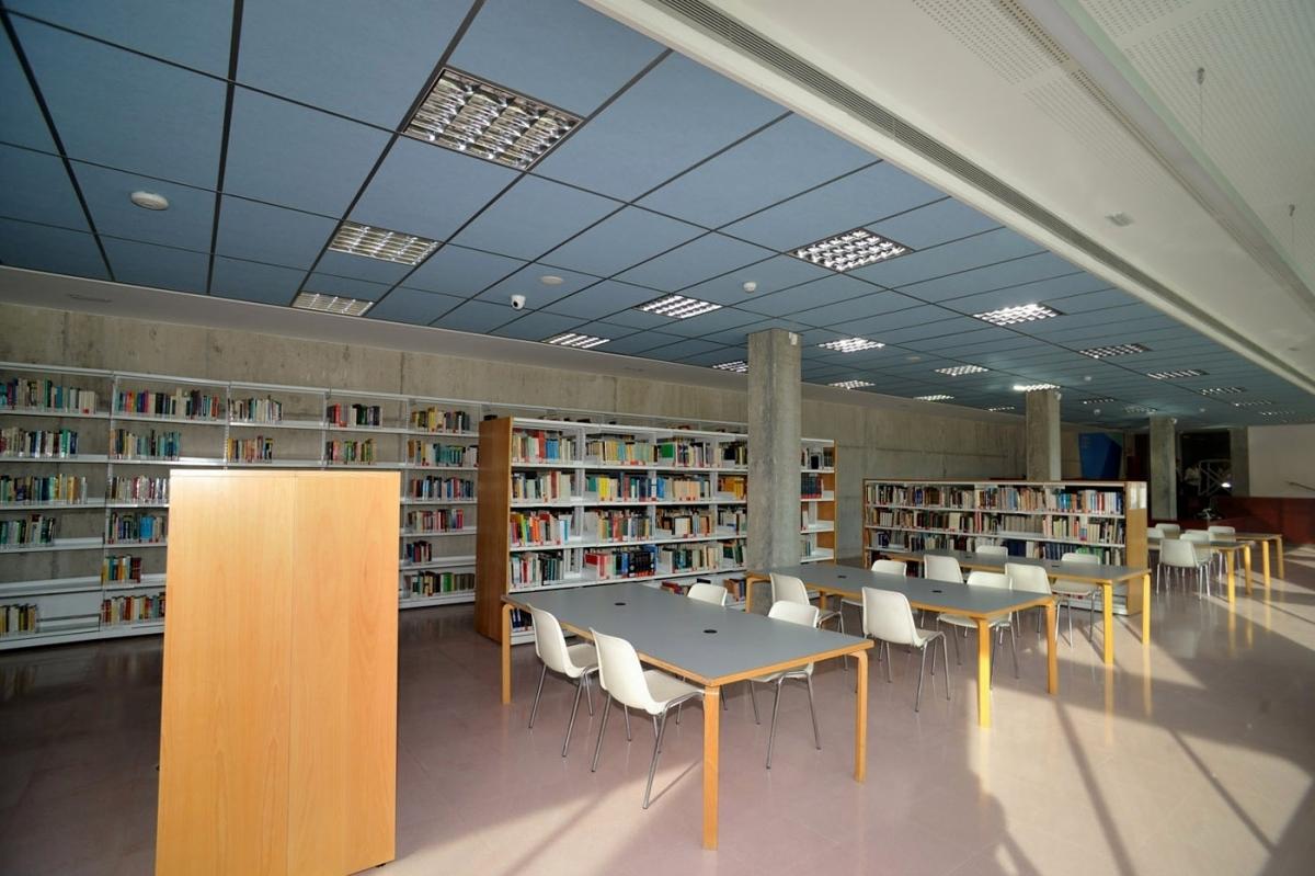 La Biblioteca del Campus Universitari, al Pla de la Massa