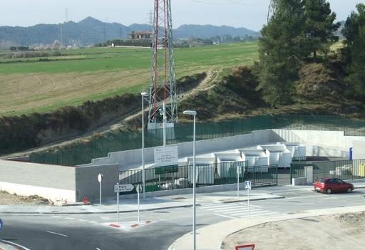 La deixalleria municipal, un dels punts de trobada