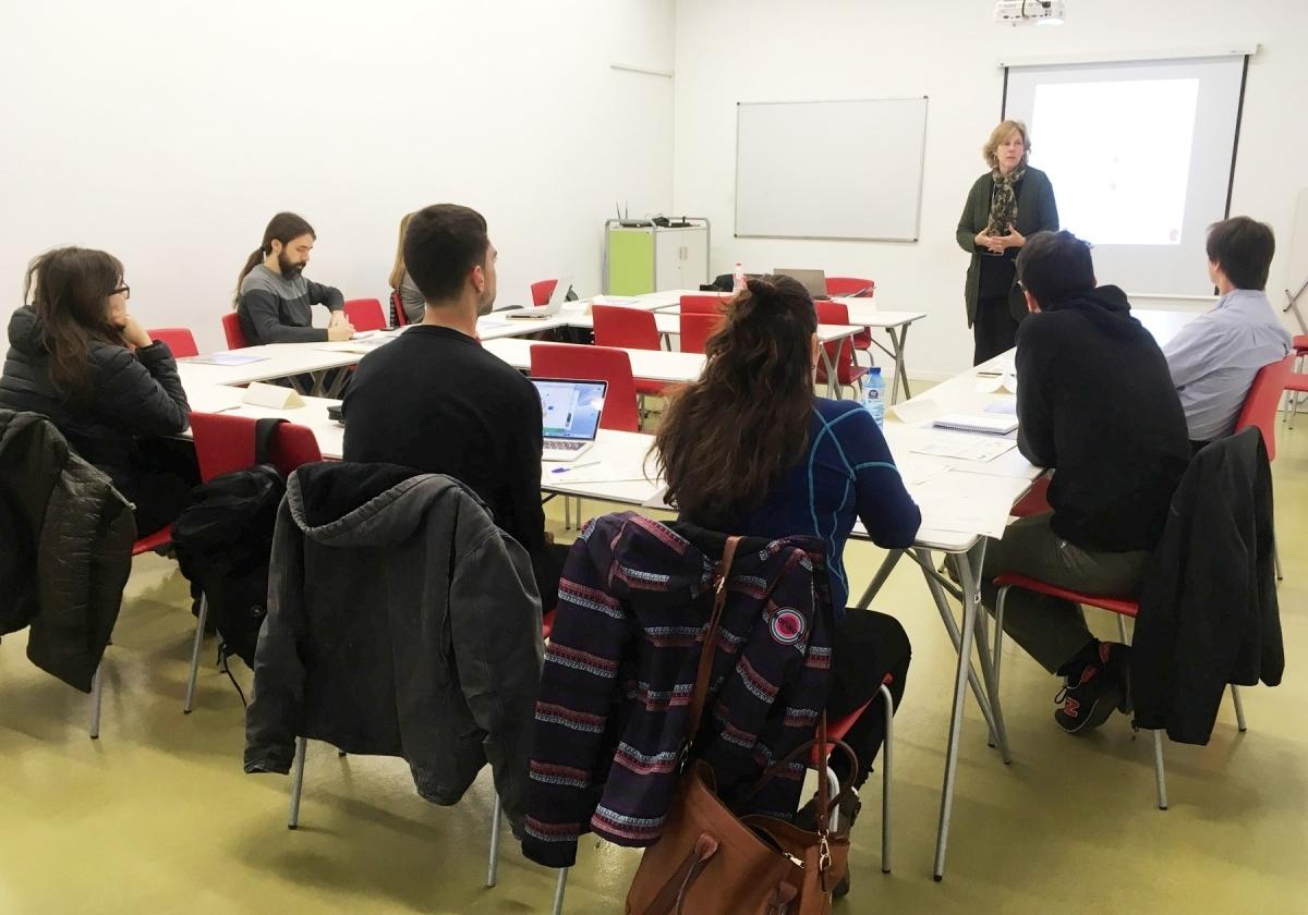 Una sessió a Ig-nova, dedicada a emprenedors